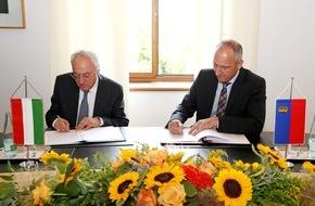 Fürstentum Liechtenstein: ikr: Doppelbesteuerungsabkommen mit Ungarn unterzeichnet