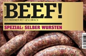 """Gruner+Jahr, Beef!: Axel Schulz: """"Seit ich denken kann, liebe ich Würste"""""""