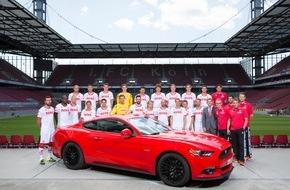 Ford-Werke GmbH: Erneut gemeinsam in der ersten Liga: Ford bleibt Exklusiv-Partner und Fahrzeug-Sponsor des 1. FC Köln