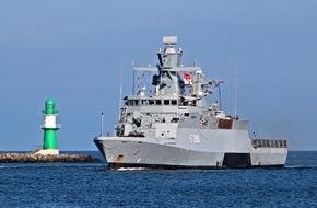 """Presse- und Informationszentrum Marine: Korvette """"Braunschweig"""" beendet UNIFIL-Einsatz"""