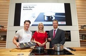 Robert Bosch Hausgeräte GmbH: Köstliche Gerichte - perfekt gestemmt / Inge und Matthias Steiner präsentieren die Hausgeräte-Innovationen von Bosch zur IFA 2015