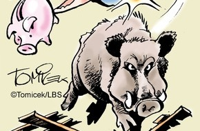 Bundesgeschäftsstelle Landesbausparkassen (LBS): Achtung, Wildschweine / Vermieter muss für wirkungsvolle Schutzzäune sorgen