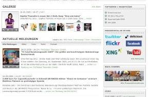 news aktuell GmbH: Relaunch von www.presseportal.de: Optische Überarbeitung, neue Homepage-Ticker, Verknüpfung mit sozialen Netzwerken