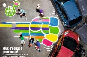 Pro Juventute: Pro Juventute lance une campagne de mobilisation nationale pour réclamer plus d'espace public pour les enfants