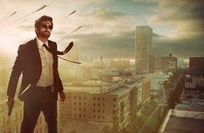 """Sky Deutschland: """"Powers"""" definiert das Superhelden-Genre neu: ab 11. März parallel zum US-Start auf Sky"""