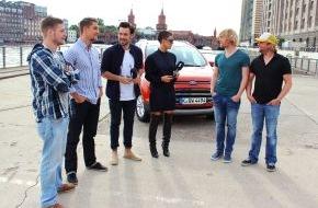 Ford-Werke GmbH: Große Ford EcoSport Challenge endete mit exklusivem Konzert von Frida Gold in Berlin (FOTO)