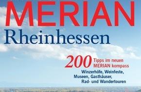 """Jahreszeiten Verlag, MERIAN: """"Rheinhessen - Wein, Mainz und Genuss"""" / Neu: MERIAN Rheinhessen erscheint am 22. Oktober 2015"""