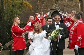 """SAT.1: Und nochmal """"Ja""""! Hochzeit reloaded in SAT.1: """"Ganz in Weiß"""" mit Isabel Varell, ab 21. Februar 2016, immer sonntags um 17:55 Uhr in SAT.1"""