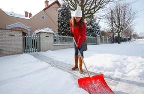 CosmosDirekt: Räumpflicht: Wer muss den Schnee schippen?