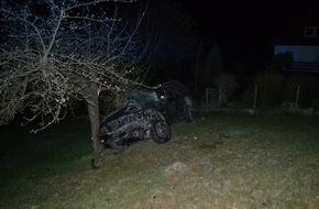Polizeiinspektion Hildesheim: POL-HI: Trunkenheitsfahrt mit Folgen