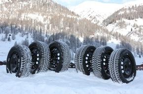 """Touring Club Schweiz/Suisse/Svizzero - TCS: TCS Winterreifentest 2015: Fast alle Reifen sind mindestens """"empfehlenswert"""""""