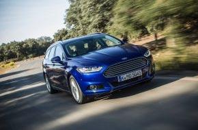 Ford-Werke GmbH: Ford verlängert Service-Intervall für den neuen Mondeo