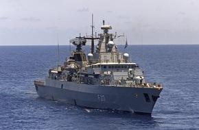 """Presse- und Informationszentrum Marine: Fregatte """"Bayern"""" wird Flaggschiff bei der Operation """"Atalanta"""""""