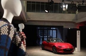 Mazda: Mazda präsentiert Mode als Experimentalfeld von Design