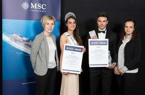 MSC Kreuzfahrten: MSC Kreuzfahrten präsentiert Miss und Mister Suisse romande 2015