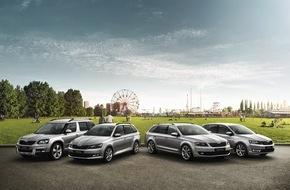 Skoda Auto Deutschland GmbH: SKODA 3+3 Clever-Paket macht aktuelle 'Joy'-Sondermodelle noch attraktiver
