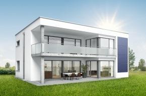 SWISSHAUS: SOLARIS de SWISSHAUS: Une maison qui capture le soleil
