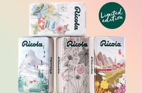 Ricola: Designwettbewerb: Kreative und Konsumenten gestalten Limited Edition Dosen für Ricola