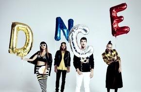 """Universal International Division: DNCE erobern mit Sommer-Hymne """"Cake By The Ocean"""" Platz 1 der deutschen Airplaycharts"""