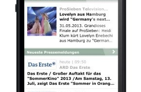 news aktuell GmbH: App für Presseportal.de mit neuer Abo-Funktion / Pressemitteilungen personalisiert aufs Smartphone