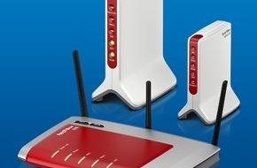 AVM GmbH: FRITZ!OS 6.21 bringt neuen Schub für FRITZ!Box LTE