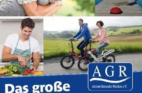 Aktion Gesunder Rücken e. V.: Rückenschmerz adé - das große AGR-Rückenbuch klärt auf (FOTO)