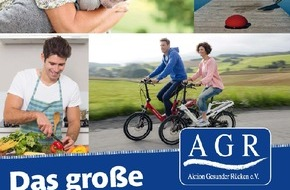 Aktion Gesunder Rücken e. V.: Rückenschmerz adé - das große AGR-Rückenbuch klärt auf
