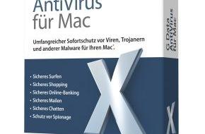 G Data Software AG: Rundum sicher: G Data AntiVirus für Mac
