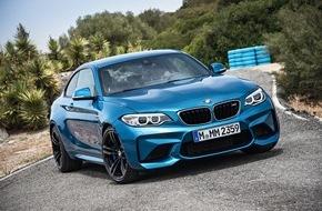 BMW Group: Das neue BMW M2 Coupé
