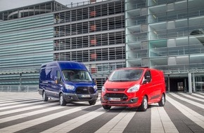 Ford-Werke GmbH: Ford Nutzfahrzeuge: Ford glänzt mit neuen Rekorden und Verkaufserfolgen