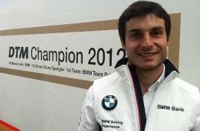 """PM-International AG: """"Wenn Du nicht fit bist, hast Du keine Chance"""" Bruno Spengler, DTM-Champion 2012, über seine Ziele für die neue Rennsaison und die Bedeutung seiner persönlichen Fitness"""