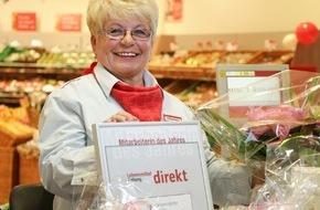 """Lebensmittel ZeitungDIREKT: """"Mitarbeiterin des Jahres"""" im Lebensmittelhandel gekürt"""
