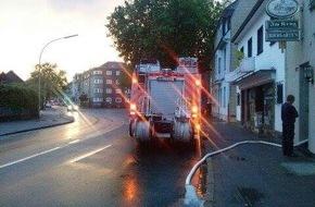 Feuerwehr Mönchengladbach: FW-MG: Unwettereinsätze