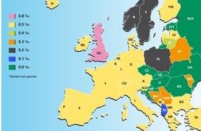 Sucht Schweiz / Addiction Suisse / Dipendenze Svizzera: Addiction Suisse Taux d'alcool en Europe: mieux vaut vérifier
