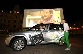 Skoda Auto Deutschland GmbH: SKODA bewegt das 30. Internationale Kurzfilmfestival Hamburg