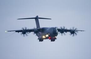 Presse- und Informationszentrum der Streitkräftebasis: - JOINT DERBY- / 1200 Soldaten im Anflug auf Nordholz