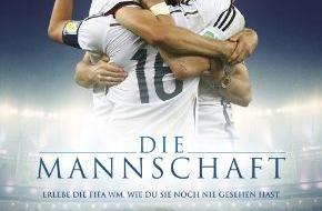Constantin Film: DIE MANNSCHAFT ist auf Platz 1 der Kinobesucher-Charts