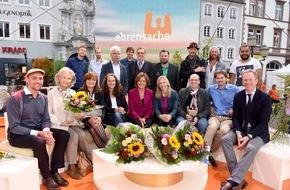 SWR - Südwestrundfunk: Ehrensache-Preise 2015 verliehen / SWR zeichnet fünf Preisträger für ehrenamtliches Engagement aus