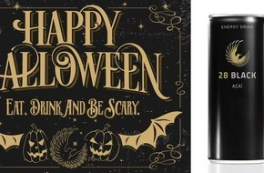 Splendid Drinks AG: Eat, drink and be scary - Halloween feiern mit 28 BLACK