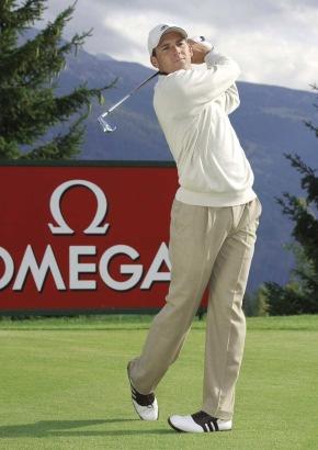 Sergio Garcia wird in die internationale Familie der OMEGA-Botschafter aufgenommen