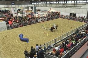 Messe Berlin GmbH: Hoch zu Ross in der Hauptstadtregion: Pferdeland Brandenburg präsentiert sich auf der HIPPOLOGICA (FOTO)