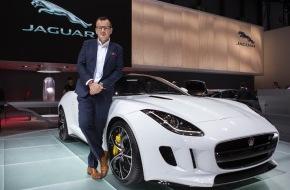 JAGUAR Land Rover Schweiz AG: Philipp Fankhauser setzt auf Jaguar (Bild)
