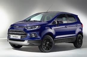 Ford-Werke GmbH: Ford EcoSport: In vielen Details verbessert und künftig auch als sportlicher EcoSport S erhältlich