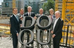 E.Breuninger GmbH & Co.: Grundstein für Dorotheen Quartier gelegt / Breuninger investiert mehr als 200 Millionen Euro