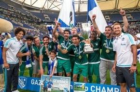 """GAZPROM Germania GmbH: GAZPROM Fancup: Packendes Saisonfinale beim """"Schalke-Tag"""""""