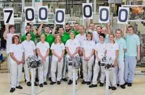 Skoda Auto Deutschland GmbH: SKODA fertigt das 7-millionste manuelle Schaltgetriebe in Mladá Boleslav