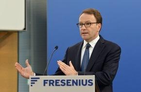 Fresenius SE & Co. KGaA: Gesundheitskonzern Fresenius ist auch 2015 kräftig gewachsen