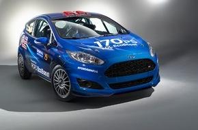 Ford-Werke GmbH: Wegweisendes Rallye-Fahrzeug: Ford präsentiert in Genf den neuen Fiesta R2 mit 1,0-Liter-EcoBoost-Dreizylinder