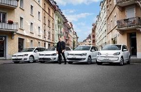 VW / AMAG Automobil- und Motoren AG: «Road to Blue*»: Musiker Stress wird neuer Markenbotschafter von Volkswagen