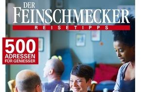 """Jahreszeiten Verlag, DER FEINSCHMECKER: Jetzt neu: DER FEINSCHMECKER-Guide """"Die besten Restaurants für jeden Tag 2015/2016"""""""